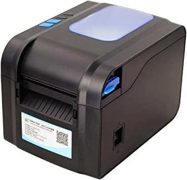 FSM88 Impresora de Etiquetas PC, Impresora de códigos de Barras Etiqueta de código QR Etiqueta/Ropa/Té/Etiqueta/Máquina automática de Tickets térmicos: Amazon.es: Deportes y aire libre