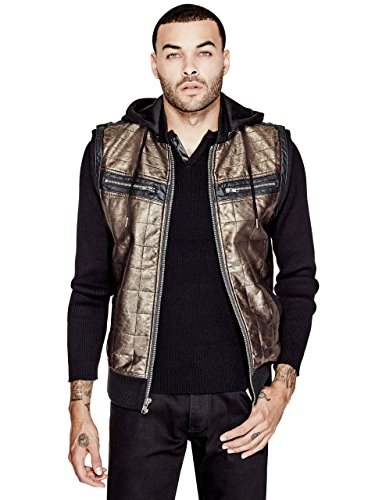 Gold Hooded Vest - 8