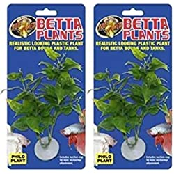 Zoo Med Laboratories AZMBP20 Betta Plant Philo (2 Pack)