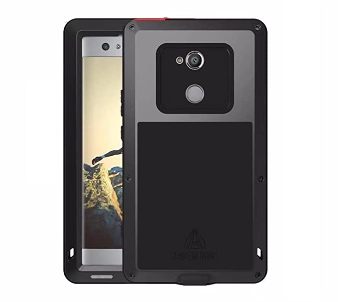 premium selection 2dcc6 c4dc2 Sony Xperia X Compact Water Resistant Case, X-FASH Heavy Duty  Shock/Snow/Dust Proof Aluminum Metal Rugged Tough Bumper Cover with  Gorillas Glass ...