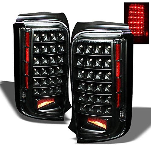 Jdm Black Led Tail Lights in US - 4