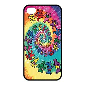 Mystic Zone Famous Band Grateful Dead Case for iPhone 4 4S Protective Artswork Cover Fits Case KEK1698