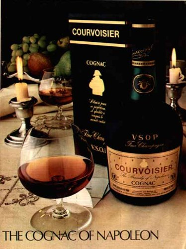 exquisite-snifter-still-life-in-1981-courvoisier-vsop-cognac-christmas-ad-original-paper-ephemera-au