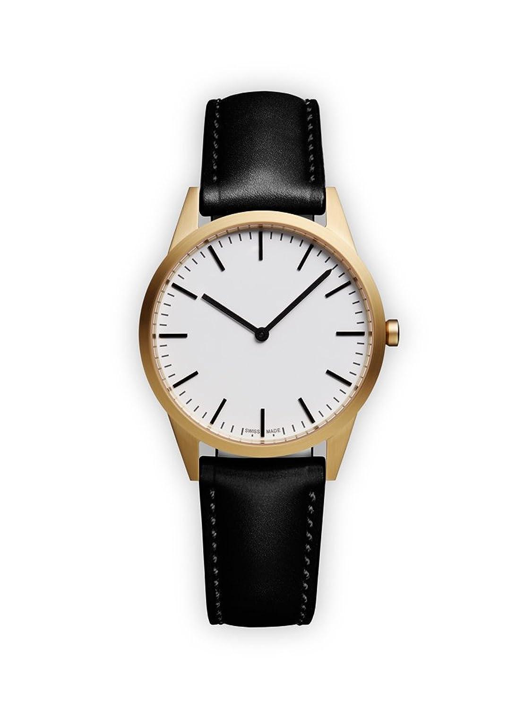 UNIFORM WARES C35 Armbanduhr - C35_SGO_01_NAP_BLK_1816R_01