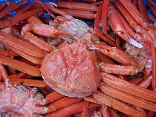 激安即納!! 名人の「浜茹で蟹L-5尾」...紅ずわい蟹A級品 2.5kg位、ボイル冷凍
