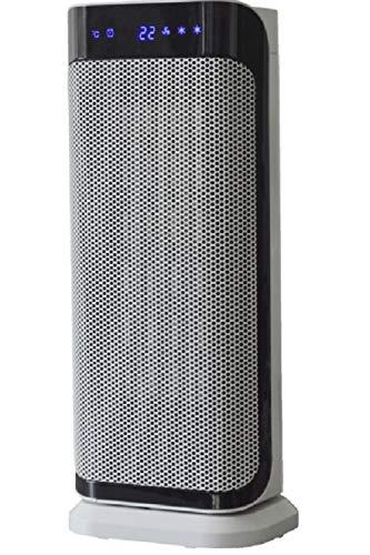 SHE WS004 Calefactor de cerámica, Blanco y negro