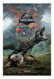 Jurassic World Fallen Kingdom Movie Poster - Size 24'' X 36'' - This is a Certified Poster Office Print with Holographic Sequential Numbering for Authenticity.