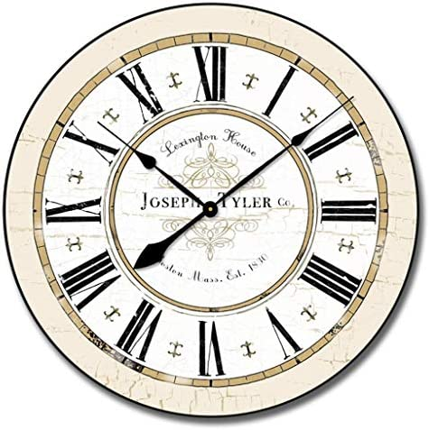 Vermont White Wall Clock