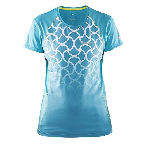 Craft Focus Run Cool de tirantes para mujer Camiseta de W Mujer, resort, XL
