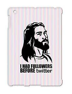 TPU Internet Religious Geek Geek Meme Jesus Christ Funny Jesus Internet Christ Cover Case For Ipad 2 Black Followers