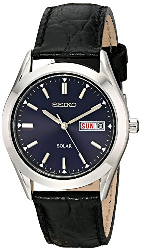 seiko-mens-sne049-stainless-steel-solar-watch-with-black-band