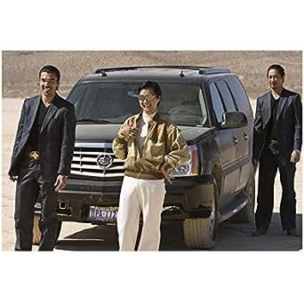 The Hangover 8x10 photo Ken Jeong, Michael Li & Ian Anthony Dale SUV in Desert kn