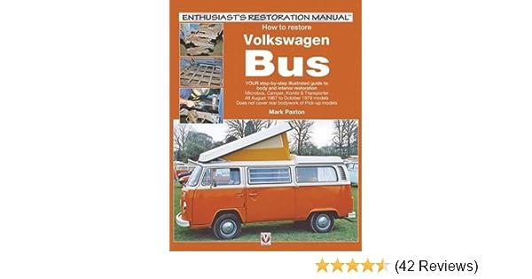 Volkswagen VW Camper Van Buyers Guide VW Bus Van Split  Bay New Book