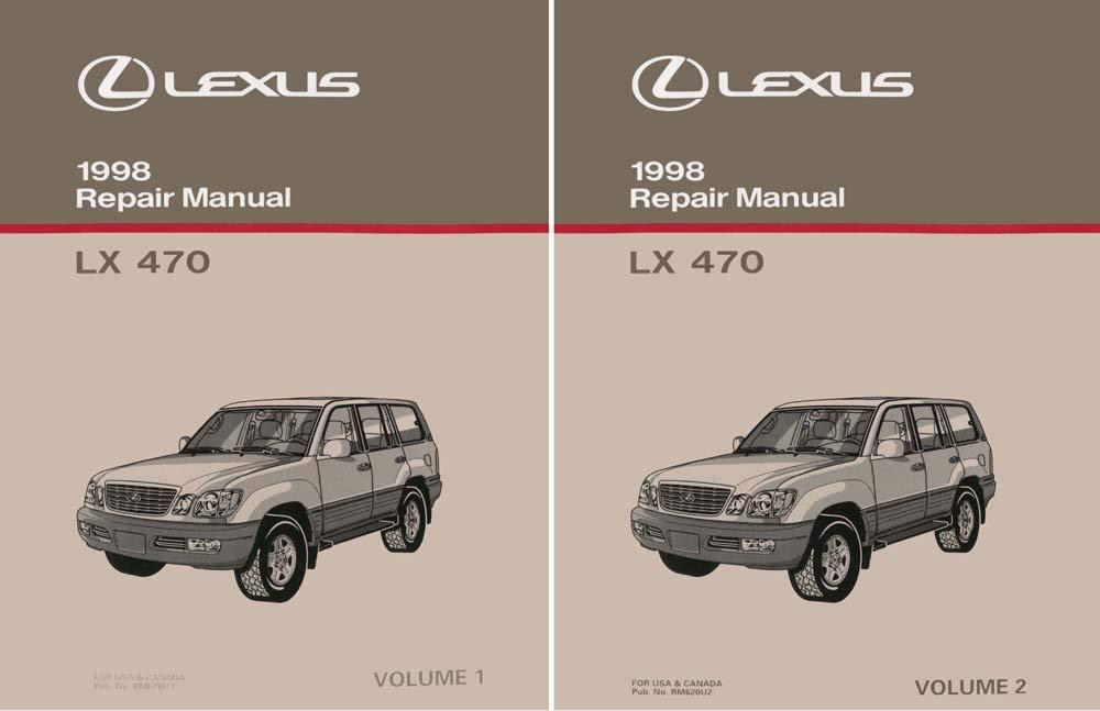 bishko automotive literature 1998 Lexus LX 470 Shop Service Repair Manual