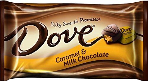 Smooth Dove Milk Chocolate - Dove Silky Smooth Promises ~ Caramel & Milk Chocolate ~ 7.94oz