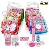 Liberty Imports 12 Petite Girls Cosmetic Sets in Bag - Fashion Makeup Bulk Pretend Play Party Favors (1 Dozen)