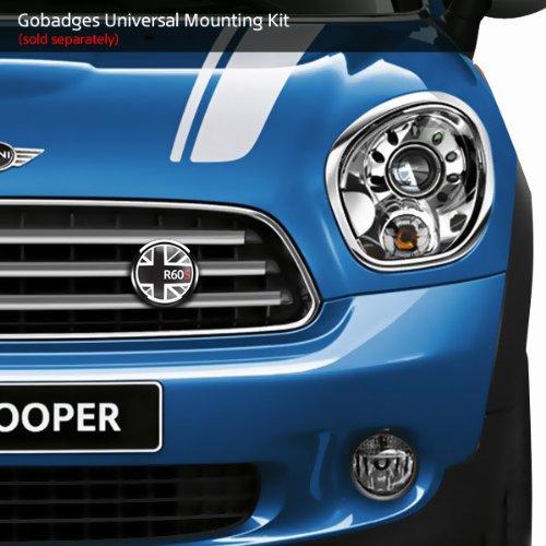 3 Magnetic Grill Badge//UV Stable /& Weather-Proof//Works Grill Badge Holder CD0159 GoBadges FLAG BLACKJACK R60S