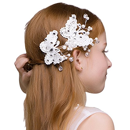 Headdress Flowers Crystal Pearls Rhinestones Beading Beautiful Girls Hair Accessories Princess Hair Jewelry Ceremony performce Prom Party Wedding 9 styles (HD)