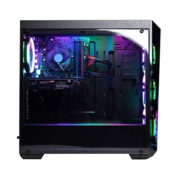CYBERPOWERPC Gamer Xtreme VR Gaming PC, Intel Core i7-9700F 3.0GHz, NVIDIA GeForce GTX 1660 6GB, 16GB DDR4, 120GB SSD… 5