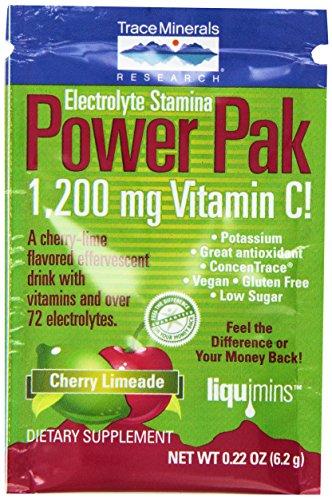 Минералы Электролит питания, вишня Limeade, 32-Count