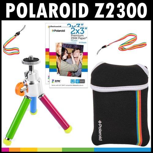 Polaroid Z2300 10MP Digital Instant Print Camera Accessory Kit (5 Items)