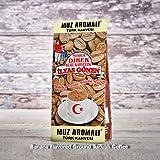 ilyas Gonen Dibek Ground Turkish Coffee/Plain Dibek and 19 Different Flavored (100g / 3,5oz) (Banana Flavored Ground Turkish Coffee) -  Dibek Kuru Kahve