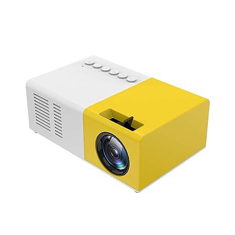 Mini Proyector De 1.600 Lúmenes 1080P Máximo De 60