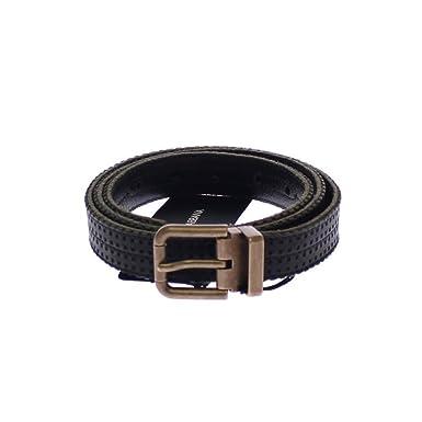 e9cb1a073f ... new zealand dolce gabbana blue leather logo belt a1bd9 30755