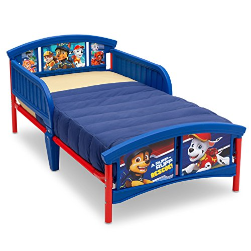 (Delta Children Plastic Toddler Bed, Nick Jr. PAW Patrol )