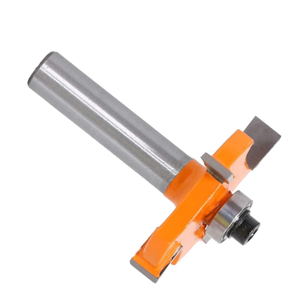 8x10mm Fresa para Ranurar 8 mm Ranuradora Fresadora para Madera de Espesor