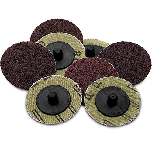 Katzco Sanding Disc - 50 Piece Set of Heavy Duty and Durable 2 inch 60 Grit Sander - Automotive, Tools and Equipment, Body Repair Tool