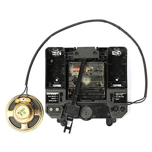 MidOr007 Clock Kit for Pendulum Silent Movement with Music Box Plastic Quartz Mechanism Drive Units DIY Clock Accessory Kits