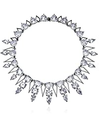 """Noir Jewelry Callaly Statement Necklace, 16"""""""