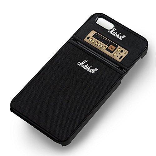 Marshall Noir Code Series pour Coque Iphone 6 et Coque Iphone 6s Case (Noir Boîtier en plastique dur) X7Q1QQ