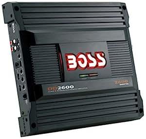 boss dd2600 diablo class d monoblock power amplifier car electronics. Black Bedroom Furniture Sets. Home Design Ideas