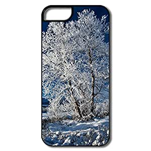 PTCY IPhone 5/5s Make Your Own Fashion Beautiful Blue Winter Sky