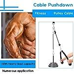 GUOQING-Pulley-Cable-Machine-Attachment-System-Braccio-Bicipite-Triceps-Blaster-Blaster-Forza-A-Mano-Formazione-Domestica-Gym-Workout-Attrezzatura-Cable-Machine-System-Color-Style-B-2M