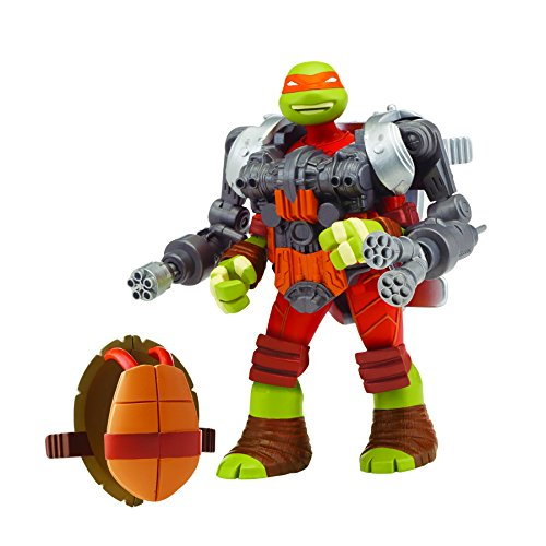 Teenage Mutant Ninja Turtles Mutations Michelangelo with Stealth Battle Shell Action Figure