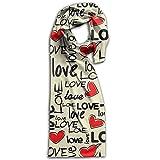 Doppyee Love Heart Super Soft Classic Cashmere Pashmina Feel Winter Scarf For Men And Women
