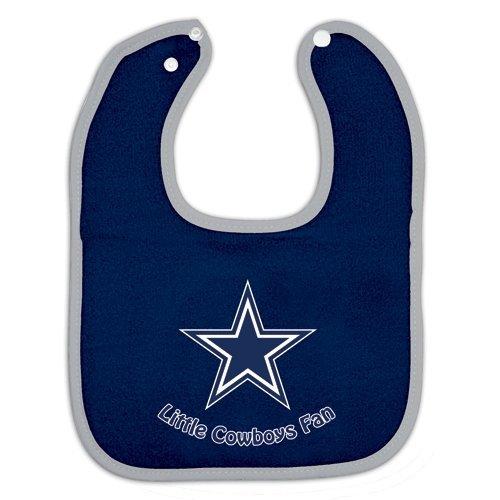 Dallas Cowboys Snap Baby Bib