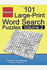 Funster 101 Large-Print Word Search Puzzles, Volume 2: Word search book for adults Paperback