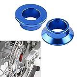 Blue Rear Wheel Spacer Hub Collars for 125-450 XC-F 2013-2014 125-450SX/SX-F,All SX/SX-F/XC/XC-F 2013-2018,Husqvarna TC/TX/FC/FX 125-450 2016-2018