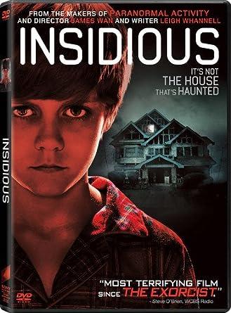 Amazoncom Insidious Patrick Wilson Rose Byrne James Wan Movies