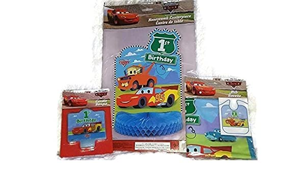 Amazon Disney Pixar CARS 1st Birthday Party Bundle Lightning