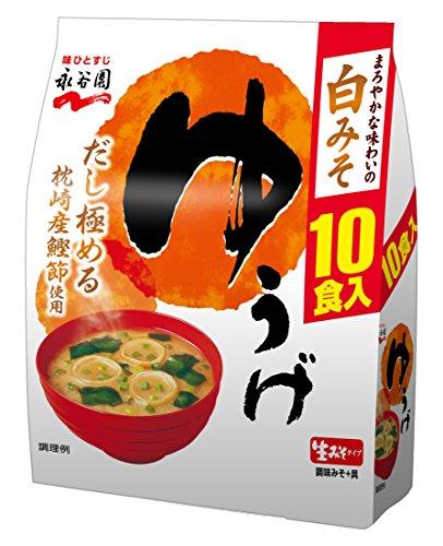 나가타니엔 생타입 된장국 석식 저녁식사 실속형10식입×5개