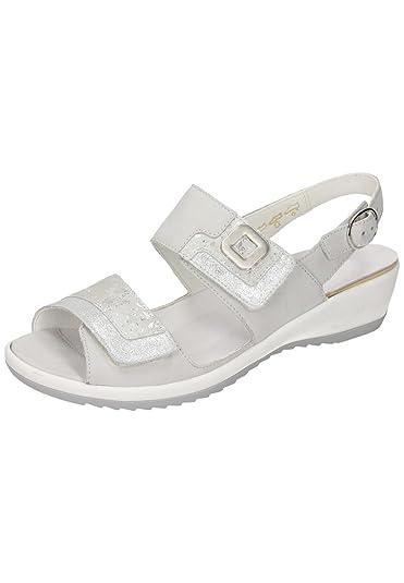 beste Auswahl an Kauf echt Schuhe für billige Amazon.com | Waldläufer Womens-Sandale - G Grau 710900-9 ...