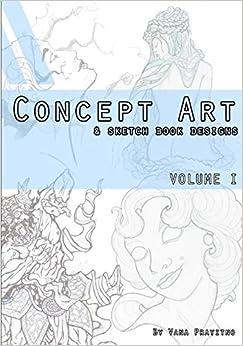 Concept Art & Sketch Book Designs (Volume)