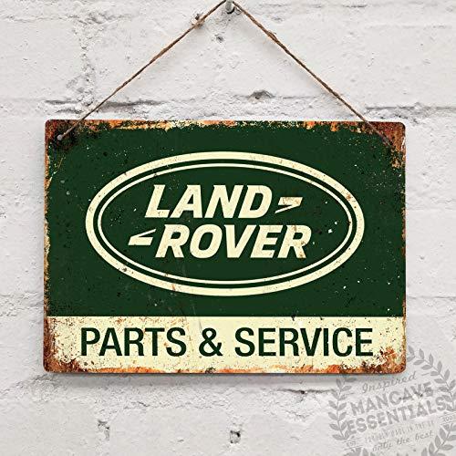 - Land Rover Parts Replica Vintage Garage Tin Sign Metal Sign TIN Sign 7.8X11.8 INCH
