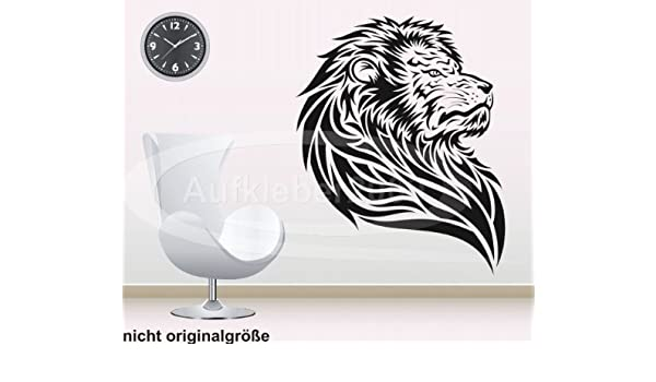 León cabeza de león König Aslan - Adhesivo decorativo para pared ...