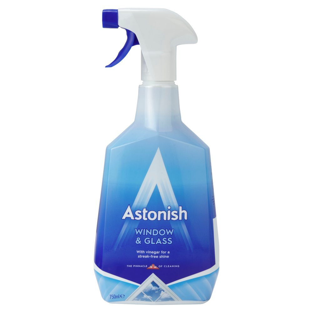 ASTONISH TRIGGER WINDOW & GLASS CLEANER 750ML